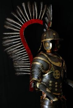 lamus dworski • Polish winged hussar armor (reconstruction).
