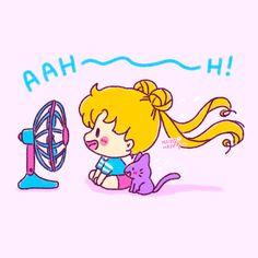 Sailor Moon fanart by Sailor Moon Party, Sailor Moon Funny, Sailor Moon Fan Art, Sailor Moon Character, Sailor Uranus, Sailor Moon Crystal, Sailor Mars, Sailor Neptune, Chibi