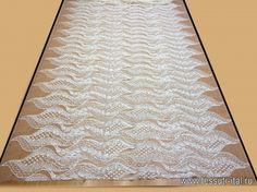 Кружево макраме на сетке расшитое пайетками (о) белое - интернет магазин тканей Тессутидея