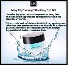 Especially in summer when my eyes tend to get super puffy from allergies. I keep it in the fridge and it feels amazing! Love Your Skin, Good Skin, Mary Kay Moisturizer, Sensitive Eyes, Dinner With Friends, Happy Skin, Puffy Eyes, Eye Gel, Allergies