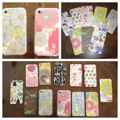 DIY phone cases :)