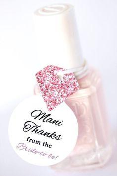 Mani Thanks! - Pretty Bridal Shower Favors  - Photos