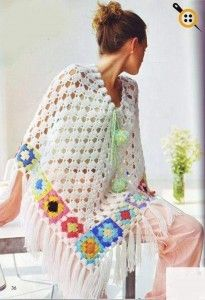 Çiçekli dantelli şal modelleri