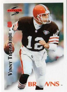 When the Browns got the ball back after another three-and-out possession by the Raiders, Testaverde was in to relieve Kosar.