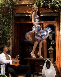 Yes, there was a time that Tula danced on tables in spain once, but then she was with your Bizzy.....................