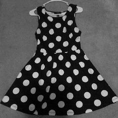 Cotton Dress Black and white polka dot Forever 21 Dresses Mini