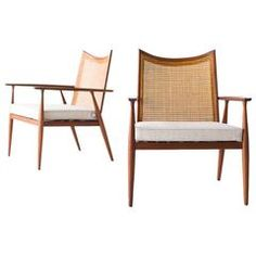 Paul McCobb Lounge Chairs for Winchendon, Planner Group Series | From a unique collection of antique and modern lounge chairs at https://www.1stdibs.com/furniture/seating/lounge-chairs/