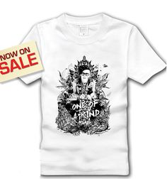 Black and White Kpop Bigbang  White  GD Unisex by GONNICHIWA, $17.89