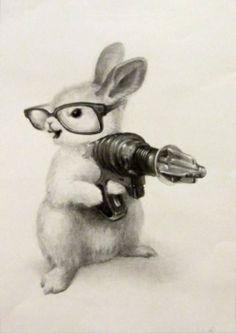 ray gun rabbit.