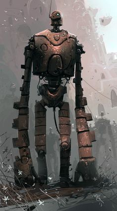 The robot of Laputa, preserved in the life of the castle in the sky (deep sentence I just created XD )