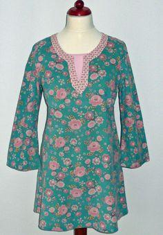 EMMA Tunika/Kleid Schnittmuster Matrosenkragen von LilofeeThings auf DaWanda.com