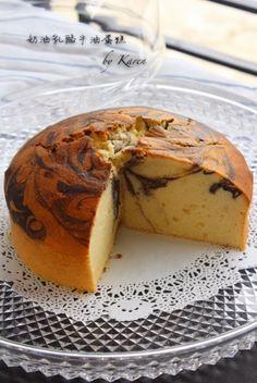 Karen's Kitchen: 奶油乳酪牛油蛋糕 (分蛋式)