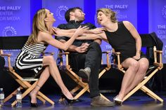 PaleyFest2015 Arrow Cast, Paley Center, Felicity Smoak, Emily Bett Rickards, The Flash, In Hollywood, We Heart It, It Cast