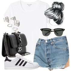 Adidas Superstar Outfits Polyvore