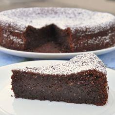 Torta caprese (gâtea
