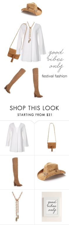 """""""Good vibes only #598"""" by meryflower ❤ liked on Polyvore featuring Steve Madden, Vince Camuto, Peter Grimm, Urban Outfitters, SteveMadden and festivalfashion"""