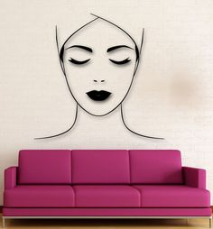 Wall Sticker Vinyl Decal Spa Salon Massage Makeup Health Decor (ig1932)