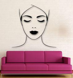 Wall Sticker Vinyl Decal Spa Salon Massage Makeup Health Decor (ig1932)