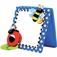 Amazon.com: Sassy Crib and Floor Mirror: Toys & Games