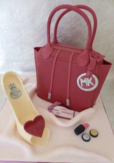 Shoe & Handbag cake