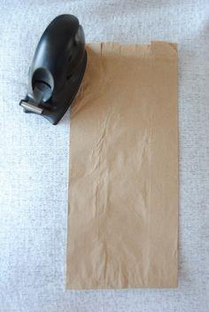 DIY: Paper Bag Menus
