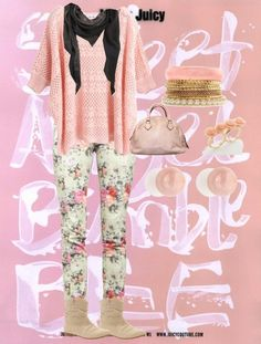 """pretty in almost all pink!"" by leftrightionlygoonedirection on Polyvore"