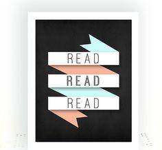 read read read typography