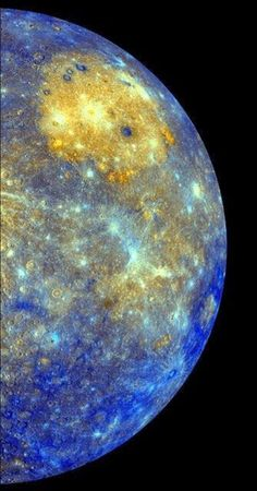 Mercury captured by NASA's Messenger Satellite