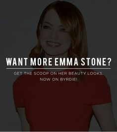 I love Emma Stone's style. She is so lovely-HJM-@Who What Wear - Want more Emma Stone? Get the scoop on her beauty looks, now on Byrdie.