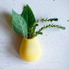 Wearable Planter Pin Yellow, $30, now featured on Fab.