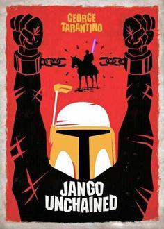 jango unchained #starwars #django #bobafett