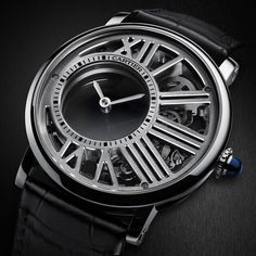 Rotonde de Cartier Skeleton Mysterious Hour #sihh2017 #cartier #cartierwatches #skeleton #mysteriouswatch #finewatchmaking #hautehorlogerie  #Repin by https://www.kensington-bespoke.uk - Bringing the #chic and #style of #Kensington High Street direct to your home.