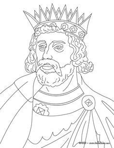 king henry iii coloring page