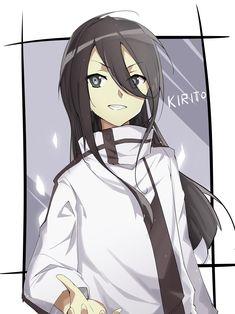World of Our Fantasy Kirito Kirigaya, Kirito Asuna, Sao Ggo, Sword Art Online Asuna, Fanarts Anime, Anime Characters, Manga Anime, Gun Gale Online, Skateboard Deck Art