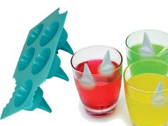 Shark Fin Ice Cube Tray - Take My Paycheck - Shut up and take my money! | The coolest gadgets, electronics, geeky stuff, and more!