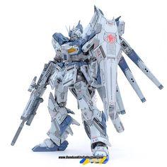 Custom Build: MG 1/100 RX-93-v2 hi-nu Gundam Ver. Ka [Detailed] - Gundam Kits Collection News and Reviews