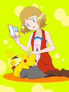 Serena loves Ash's Pikachu