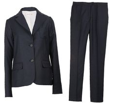 5 StylishSuits That Will Actually Fit Petite Women - Pinstripes  - from InStyle.com