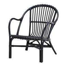 NIPPRIG 2015 Fåtölj, svart - svart - IKEA
