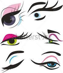 Risultati immagini per makeup stilizzato