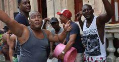 En Cuba: Con música y bailes luego del paso del huracán Irma (VIDEO) #DeCubayloscubanos #baile #cuba #cubanos #musica