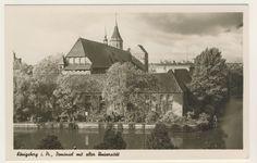 AK _ Königsberg in Preußen - Dominsel mit alter Universität _ Kleinformat • EUR…