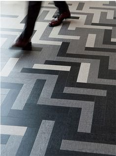 3. Mannington Commercial – Cirrus  Amtico's Cirrus tile in vinyl in Twilight, Dawn, and Air by Mannington Commercial