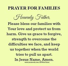 Quotes about family family blessing quotes matt quotes ideas blessed family quotes Good Morning Prayer, Night Prayer, God Prayer, Power Of Prayer, Daily Prayer, Morning Prayers, Dinner Prayer, Evening Prayer, Prayer For My Family
