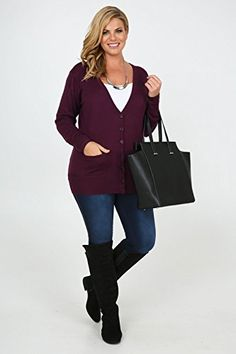 Yoursclothing Plus Size Womens Dark Super Soft Boyfriend Cardigan With Pockets Size 16 Purple - See more at: http://jewelry.florentt.com/jewelry/yoursclothing-plus-size-womens-dark-super-soft-boyfriend-cardigan-with-pockets-size-16-purple-com/