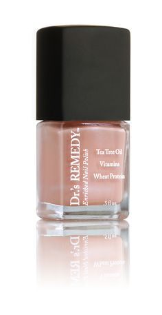 PLEASING PEACH For nude polish devotees, this light-reflecting pastel is your new summer neutral. Kissed with a subtle hint of shimmer, the pale, peachy-coral crème provides the perfect contrast to the season's bright, bold fashions!