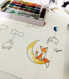 Gatineos, cachorros , raposineas, balões todos esperado uma pele para morar #pequenoprincipe #raposa #foxy #fox #gatineo #cachorro #ballon #lcjunior