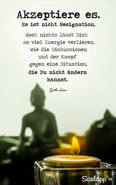 Accept ist nicht zurückgetreten - Trending Still Designs for Women 2019 - Sprüche Words Quotes, Love Quotes, Inspirational Quotes, Sayings, Dalai Lama, True Words, Good To Know, Positive Vibes, Quotations