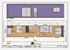 40 trendy storage container homes cabins Container Home Designs, 40ft Container, Shipping Container House Plans, Storage Container Homes, Container Home Plans, Container Conversions, Container Buildings, Underground Homes, Modular Homes