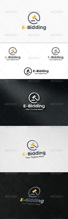 Bid Shop - Logo Template Logo templates, Shop logo and Logos - bidding template